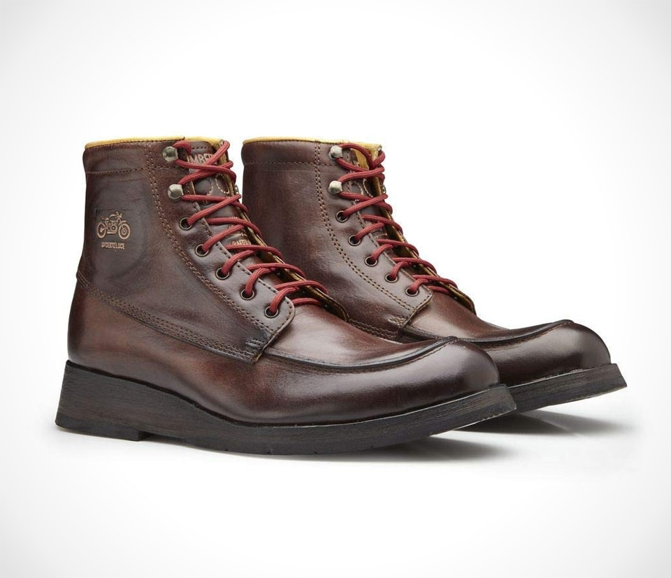 Umberto Luce Maxwell Ankle Boots with D30 Protection