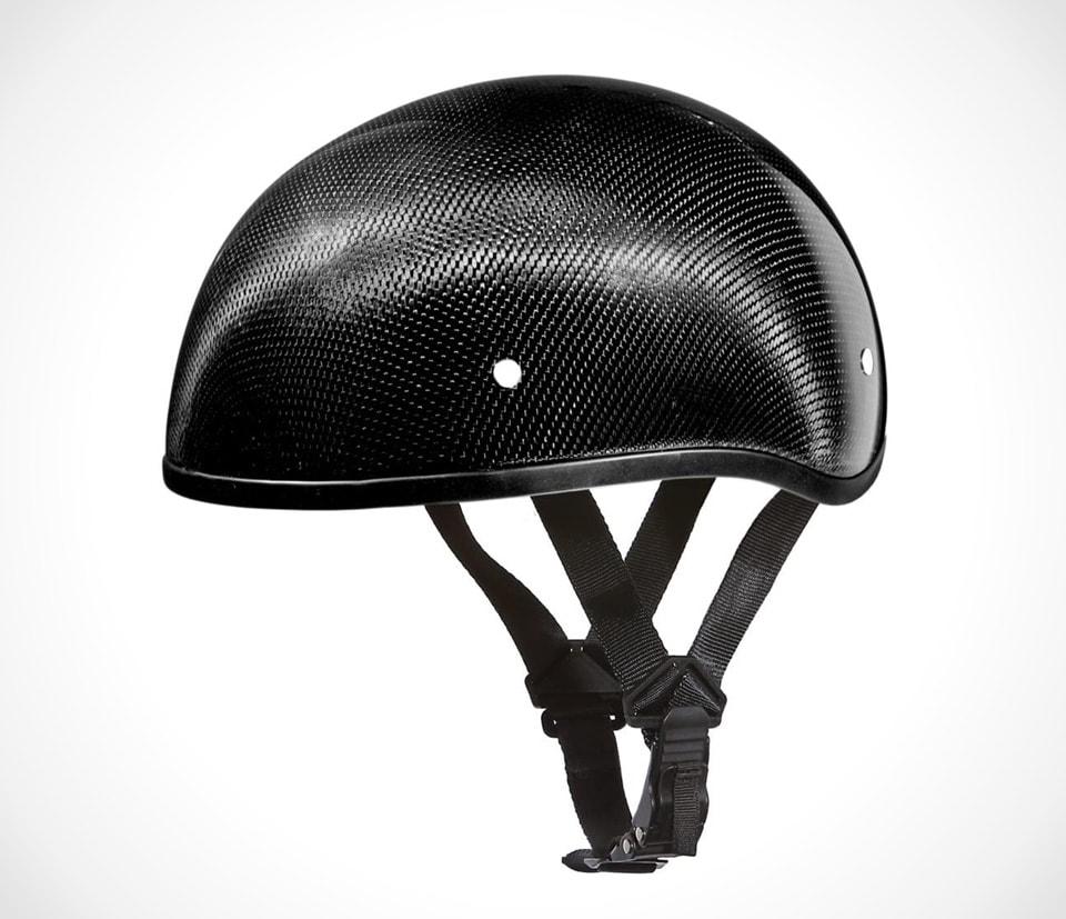 Best certified carbon fiber motorcycle helmets Daytona Carbon Fiber Half Shell