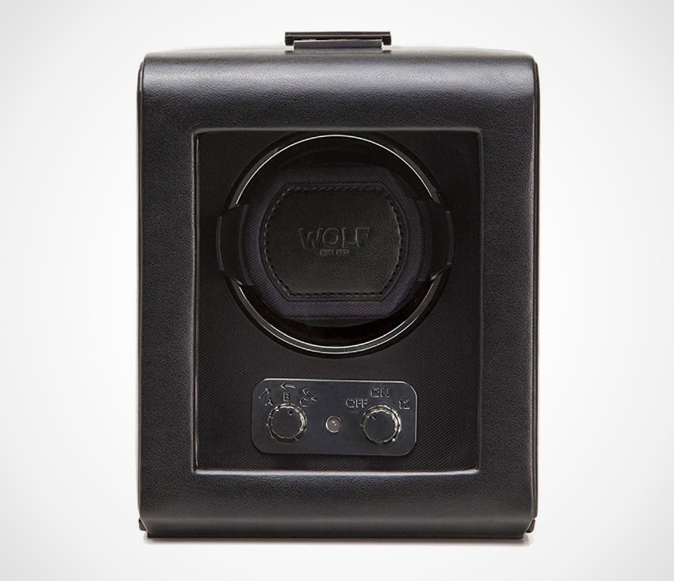 Heritage Single Watch Winder with Cover