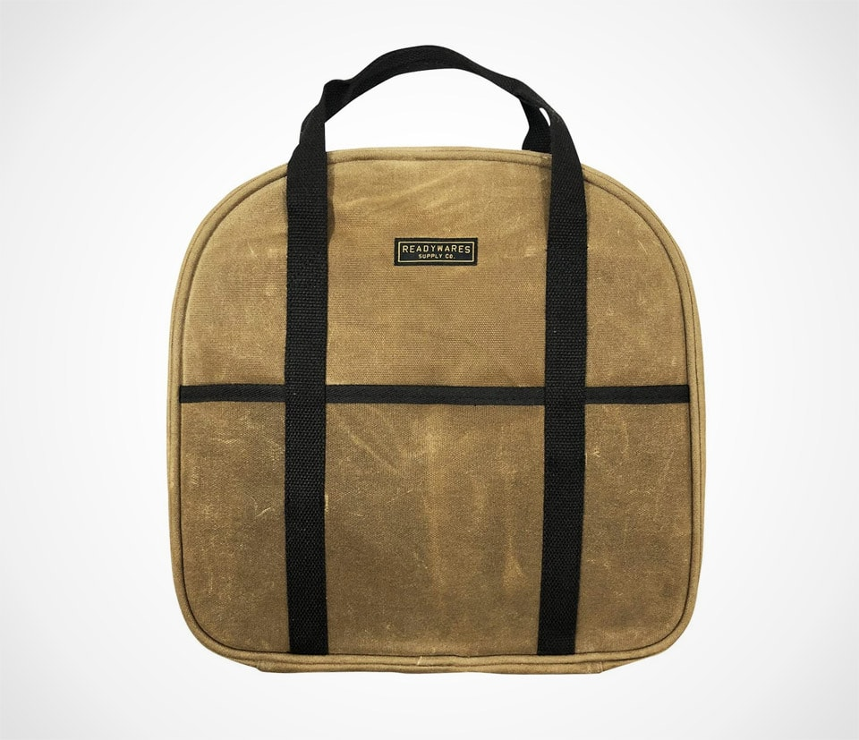 Waxed Canvas Jumper Cable Bag