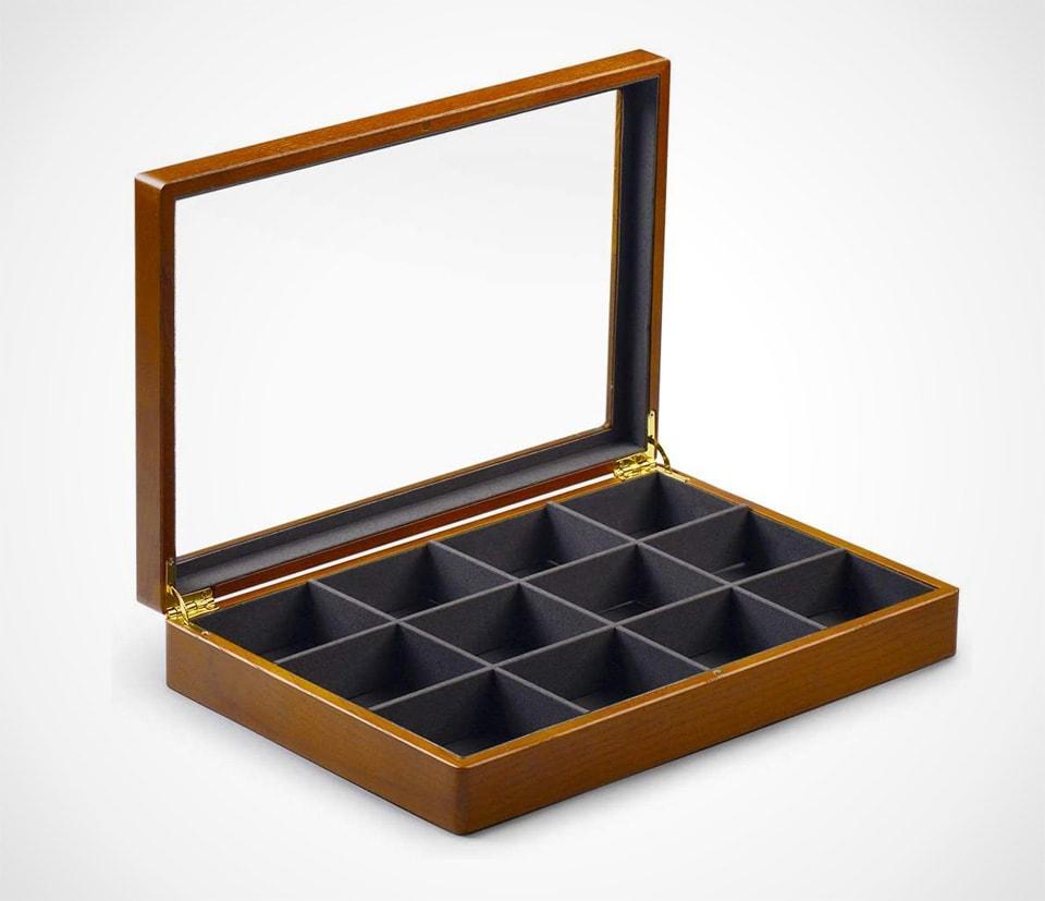 Wooden Watch Box With Big Window