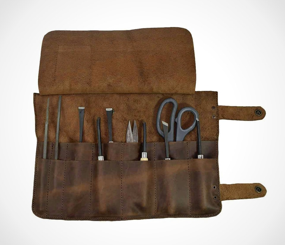 best leather tool rolls The X-large tool roll by Hide & Drink