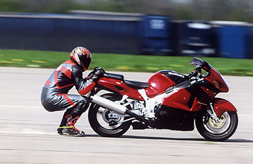 Fastest Speed Dragged Behind a Motorcycle