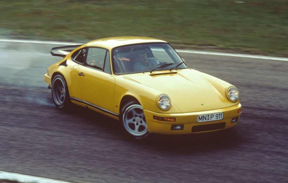 RUF Yellowbird Porsche Drifting