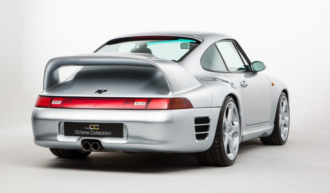 RUF CTR2 rear wing