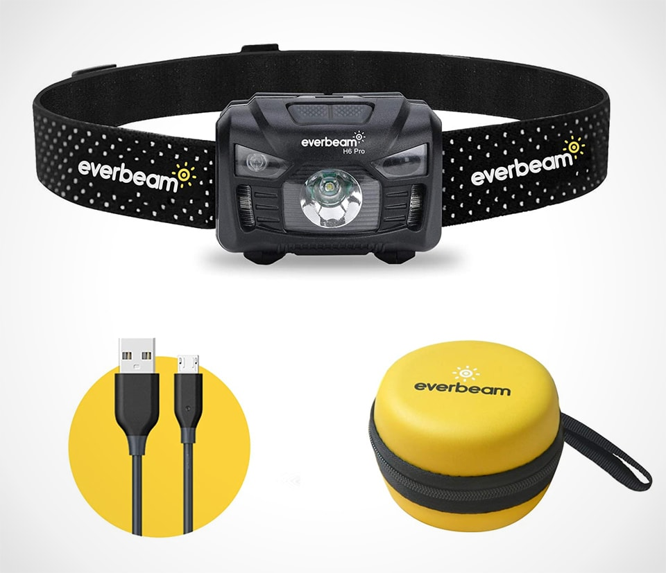 Everbeam H6 Pro LED Head Torch