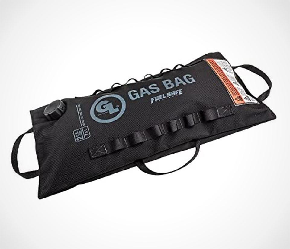 Gas Bag for Motorcycle Road Trips