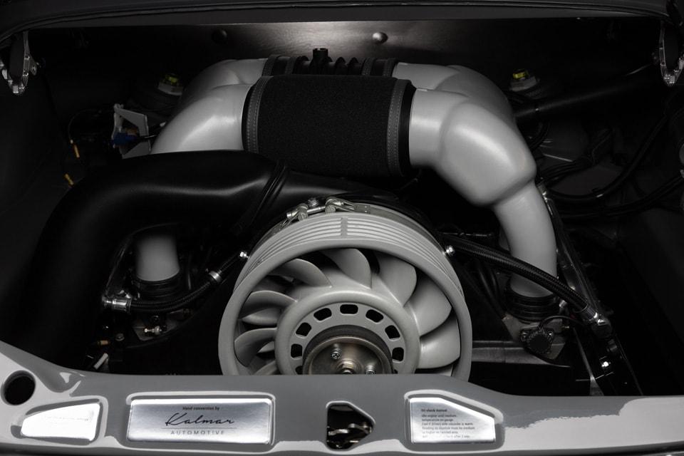 Restomod Porsche 964 KALMAR 7-976 engine