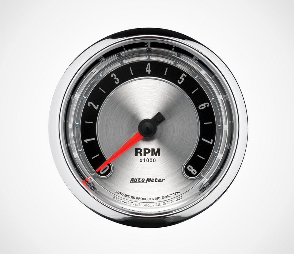 Auto Meter 1298 American Muscle In-Dash Tachometer