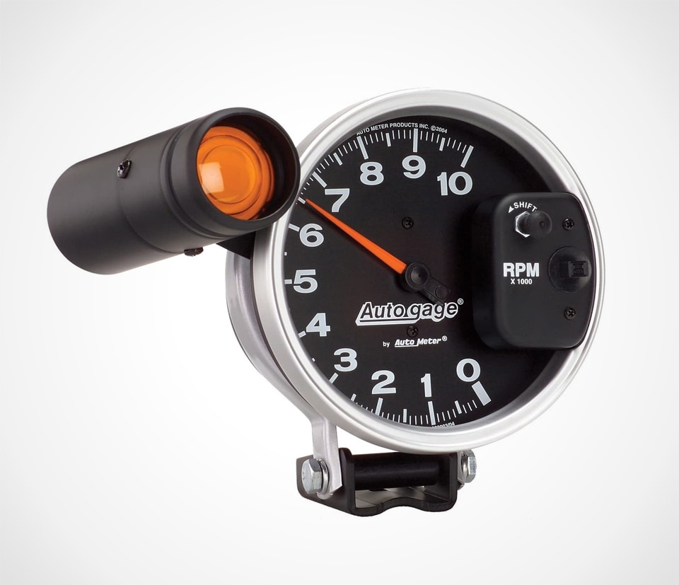 Auto Meter Monster Autogage Tachometer With Shift-Light