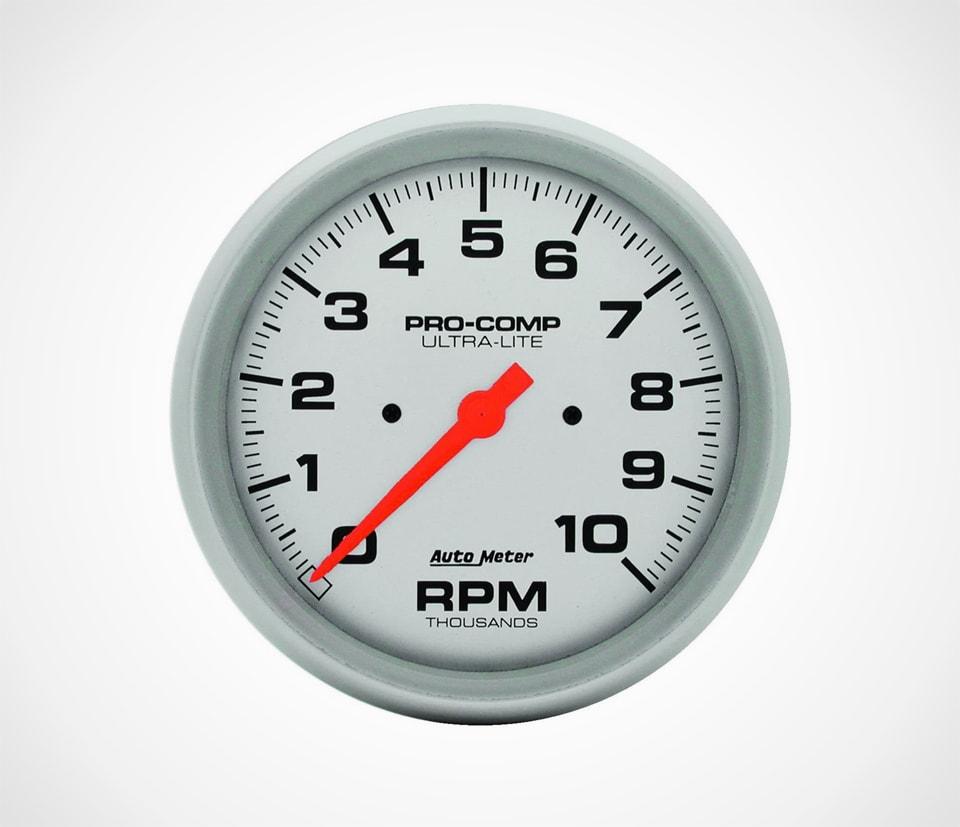 Auto Meter Ultra Light In-Dash Electric 5 inch Tachometer