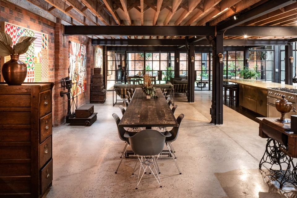 Factory Converted Into Impressive Birmingham Home