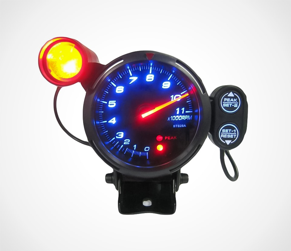 LED Tachometer Kit With Adjustable Shift Light and Stepping Motor
