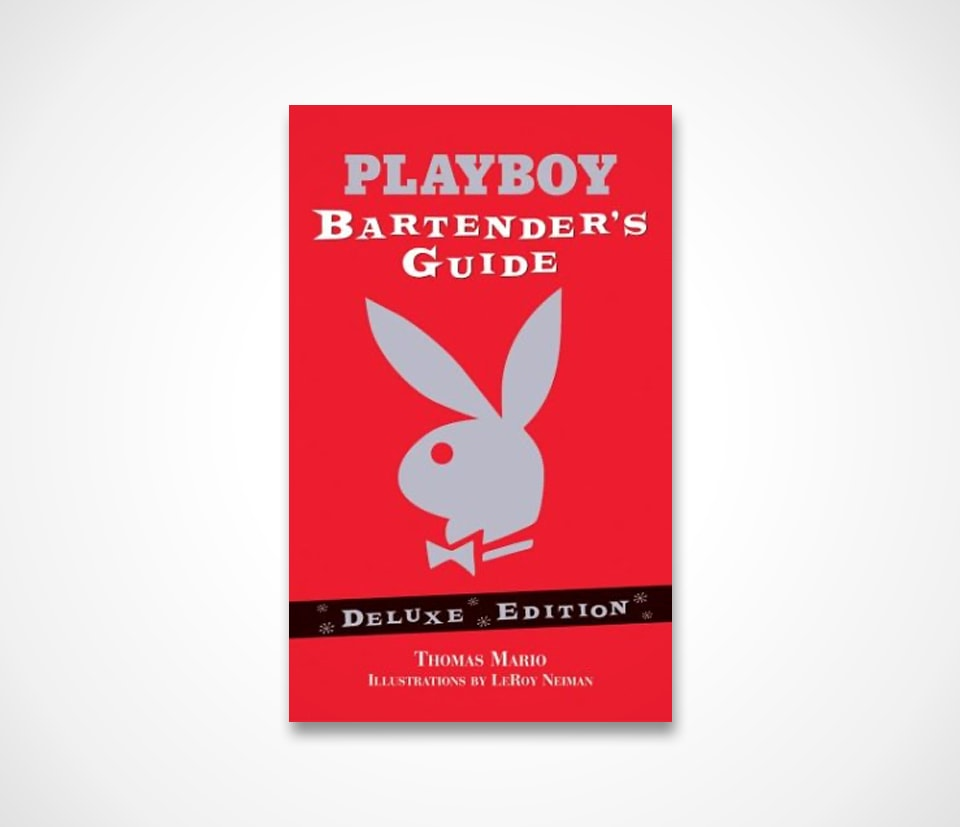 Best Cocktail Books: The Playboy Bartender's Guide Deluxe Edition