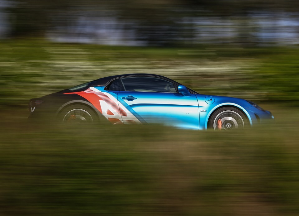 Feature the Alpine F1 Team livery