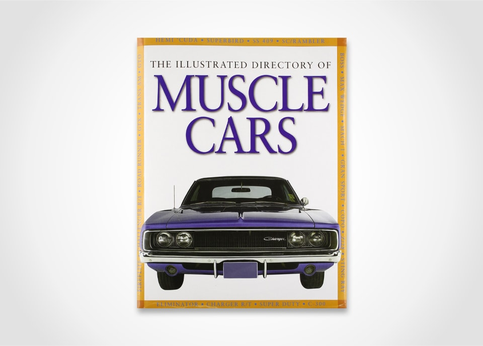 Muscle Car Illustrations