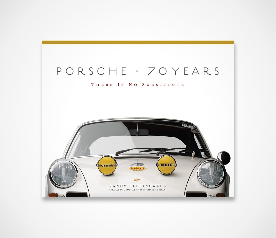 Book about Porsches 70 years