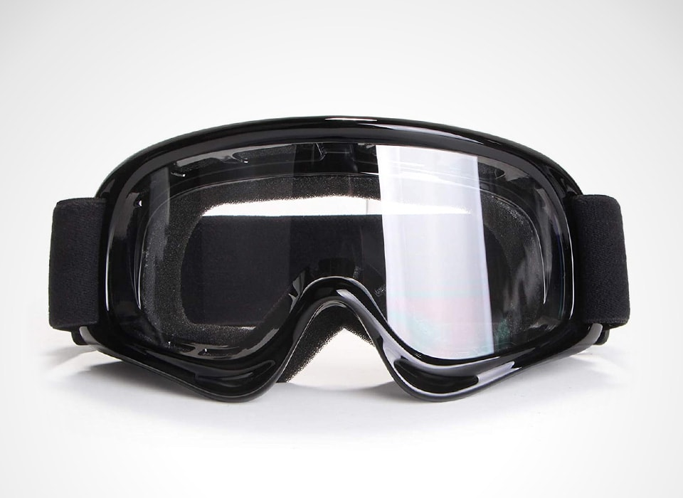 Bike Goggle Motocross Goggles Windproof Dustproof Riding Goggles Motocross Glasses Clear