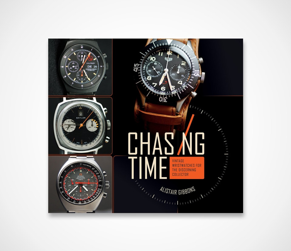 Book about Vintage Wristwatches