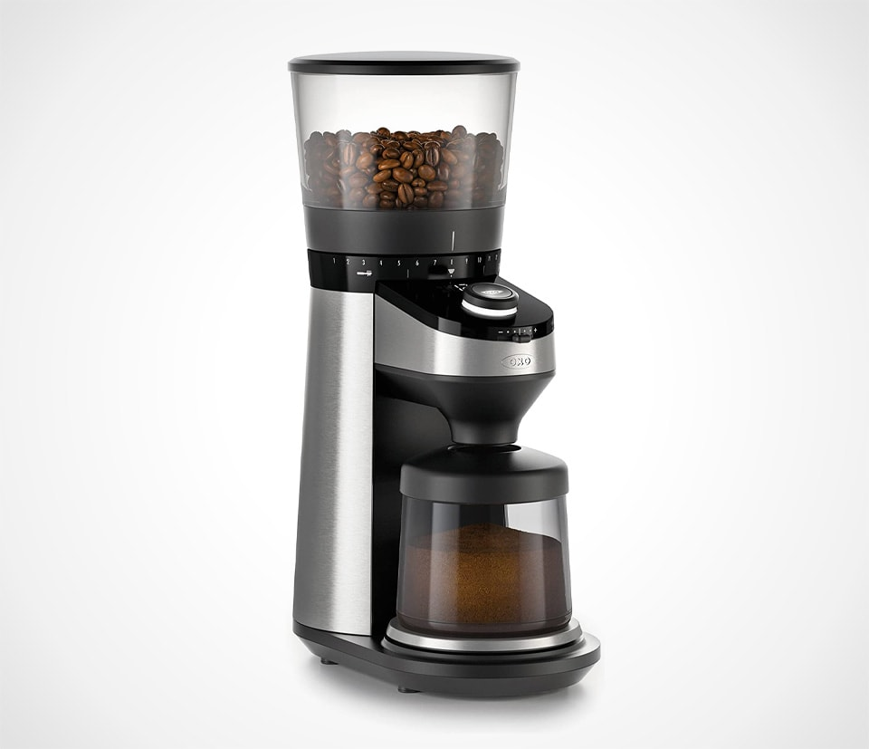 Coffee Grinder with Integrated Scale