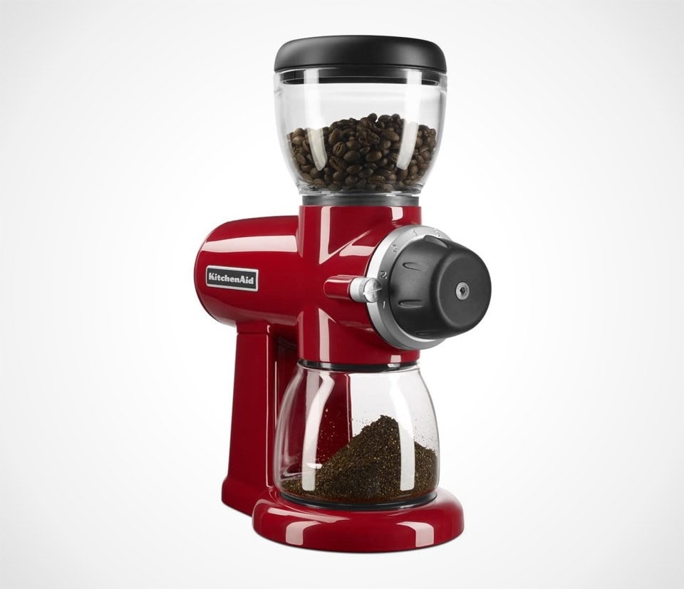 KitchenAid Burr Coffee Grinder red