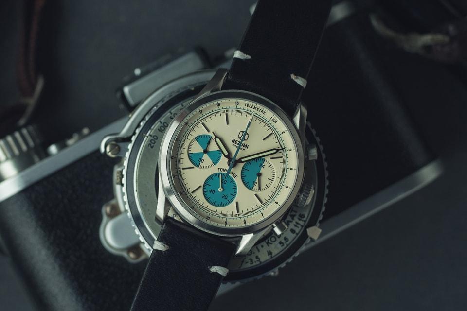 Nezumi Tonnerre – A Brand New 38 mm Classic Chronograph