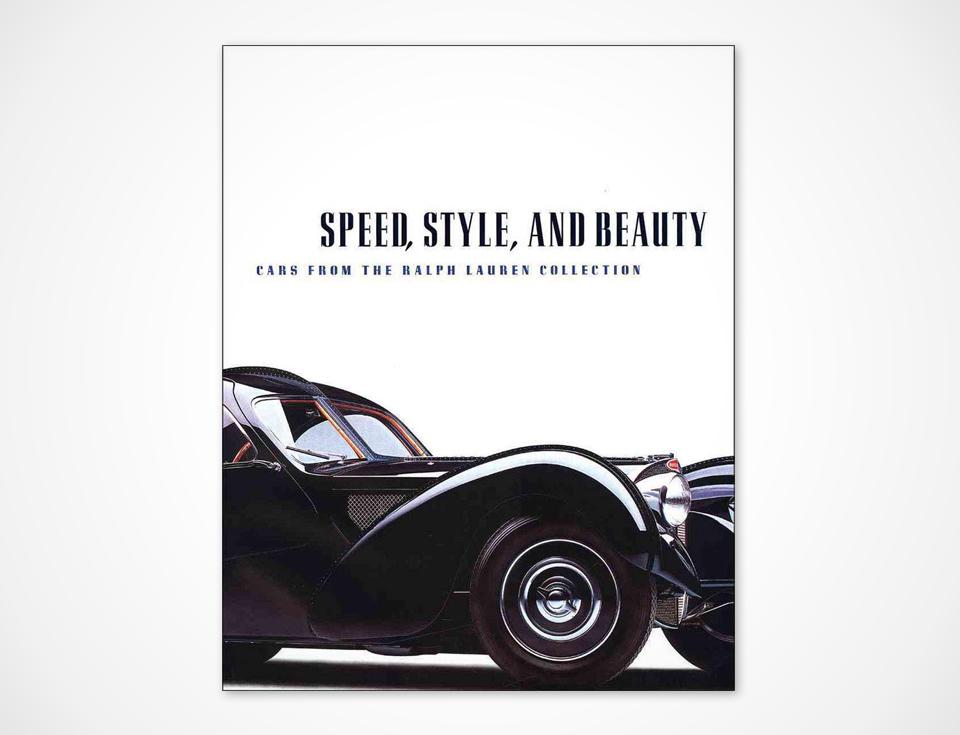 Book about Ralph Lauren Car Collection