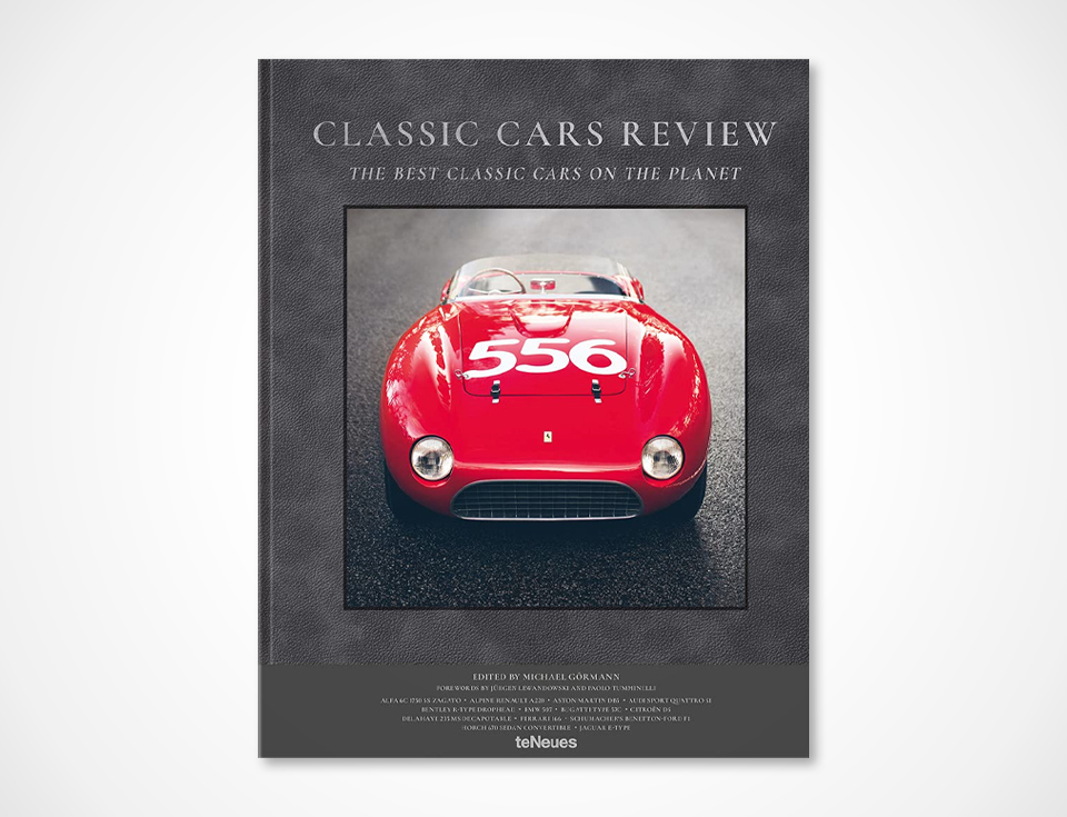 Book about classic car reviews