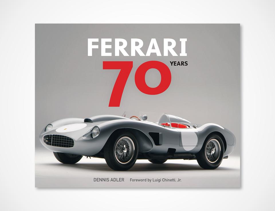 Classic Ferrari book - 70-years