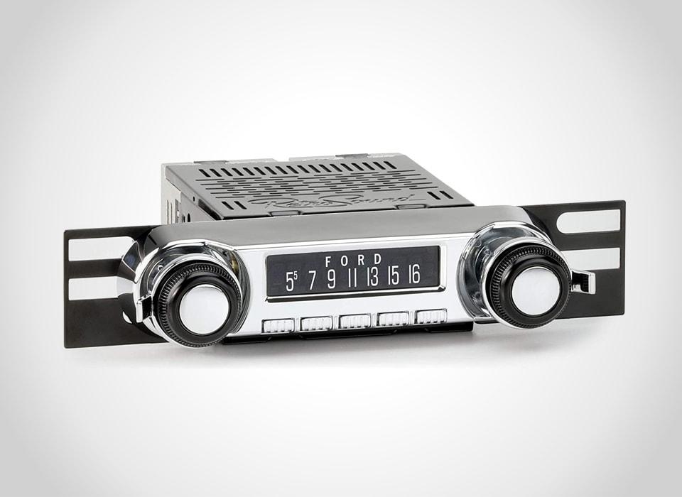 Ford retro in-dash stereos