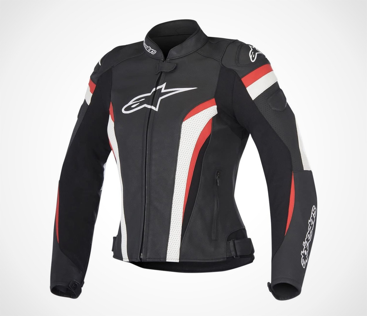 Alpinestars Womens Stella GP Plus R v2 Airflow Leather Motorcycle Jacket Black