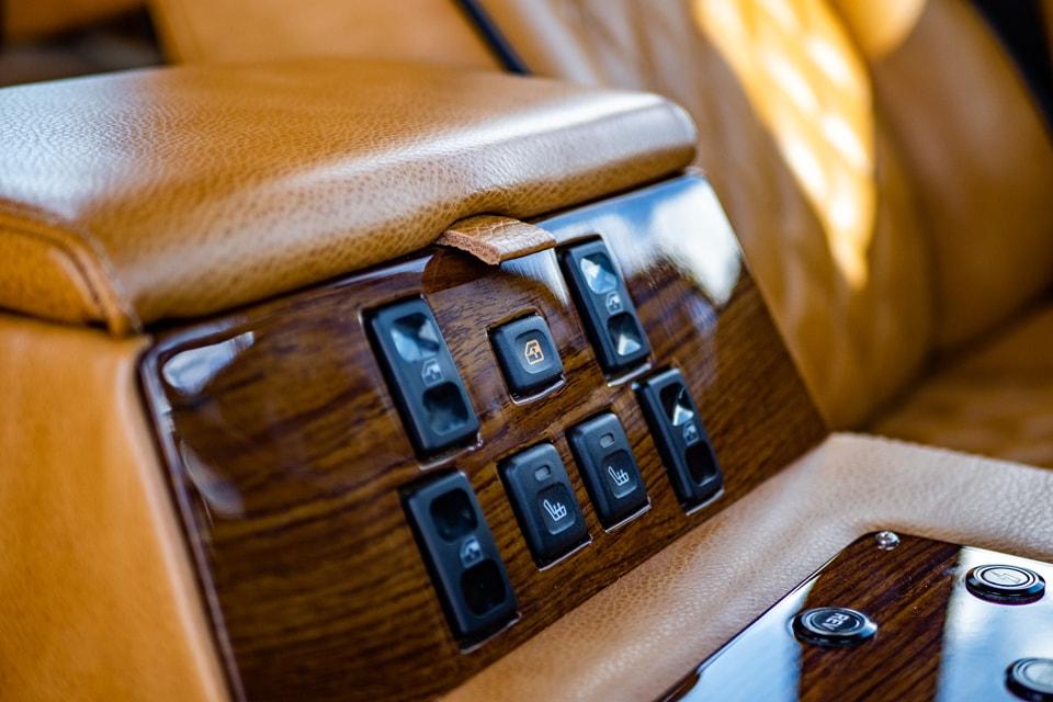 Electric Range Rover interior