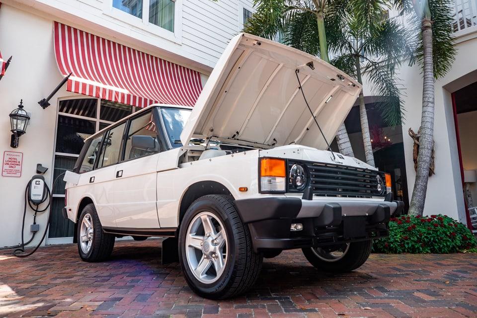 Electric Range Rover Classic by ECD Auto Design