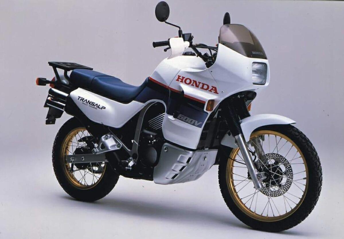 Honda XL600V-Transalp from 1987
