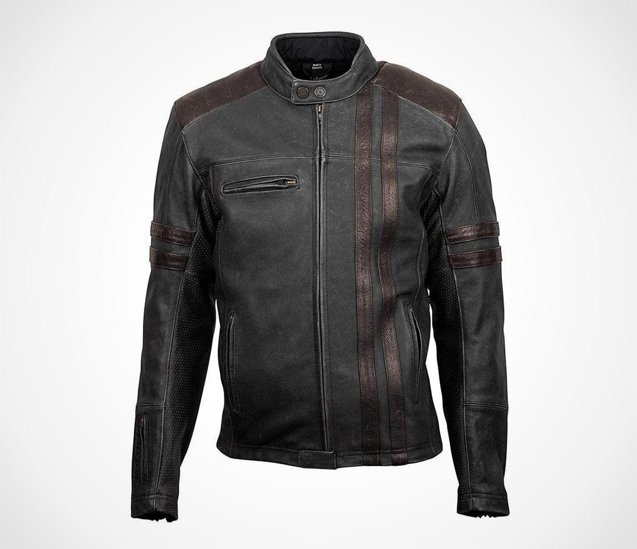 ScorpionExo 1909 Men's Leather Motorcycle Jacket