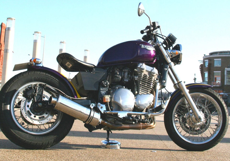 Triumph Thunderbird bobber
