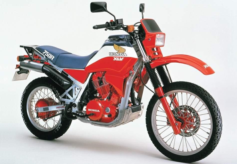 The Honda XLV750R