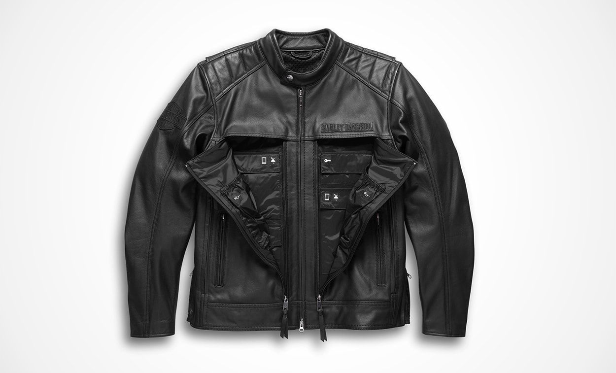 best motorcycle black leather jackets top