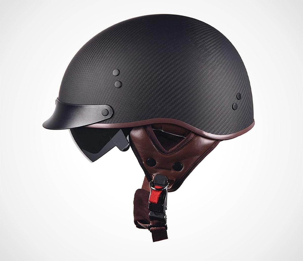 Half Open Face Motorcycle Helmet