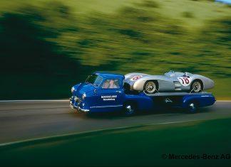 Mercedes-Benz Racecar Transporter: The Blue Wonder