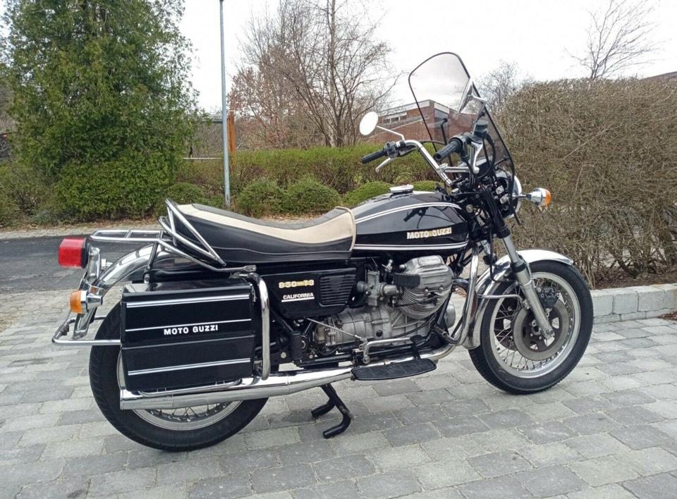 Moto Guzzi 850 T3 California, 850 ccm