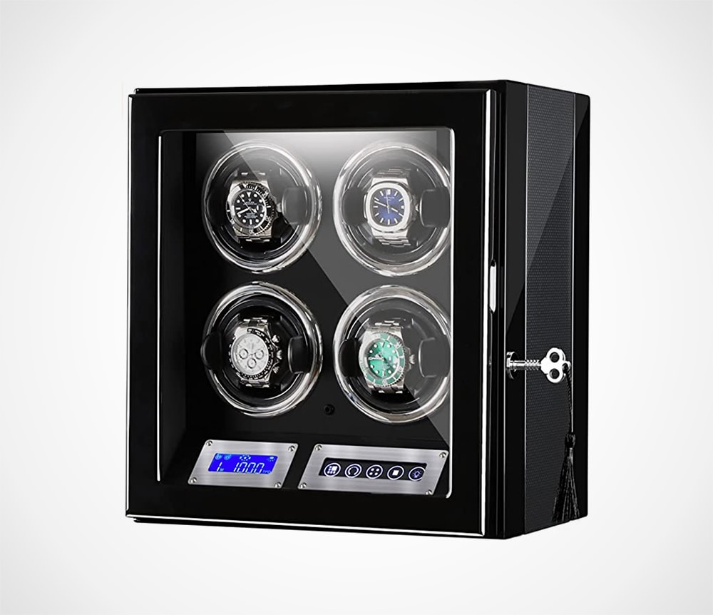 SmartCube Watch Winder for 4 Watches
