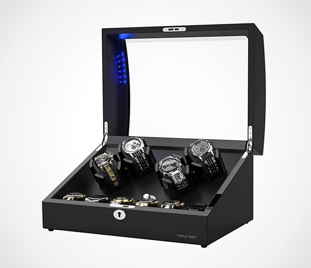 Watch Winder for 4 Automatic Watches