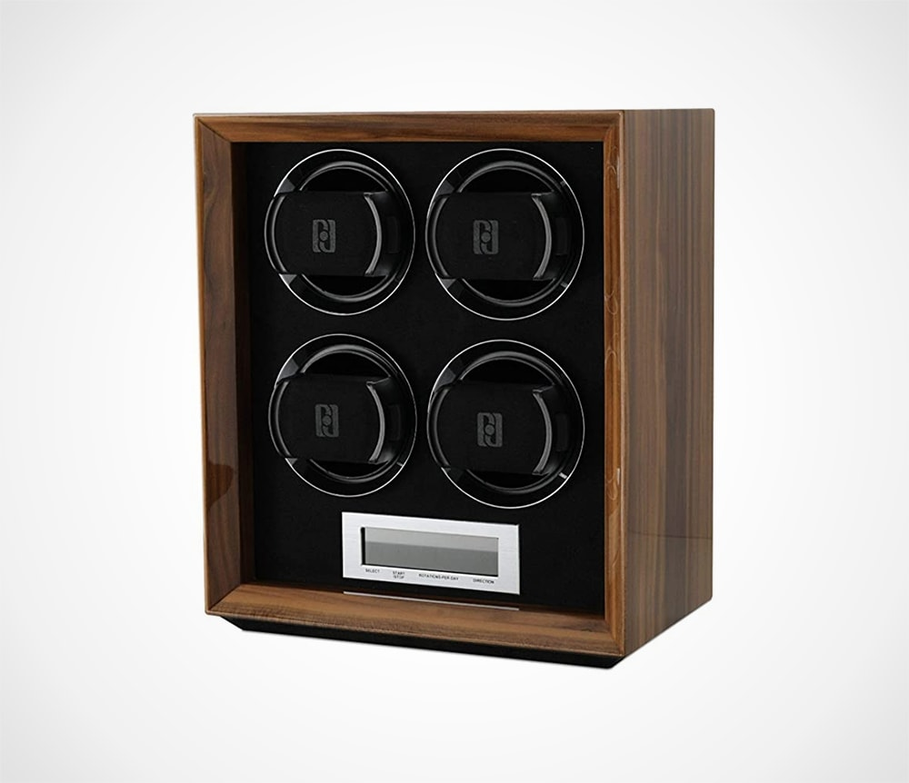 Watch Winder with LCD Touchscreen Display