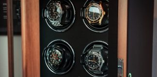 Watch Winders For 4 Watches