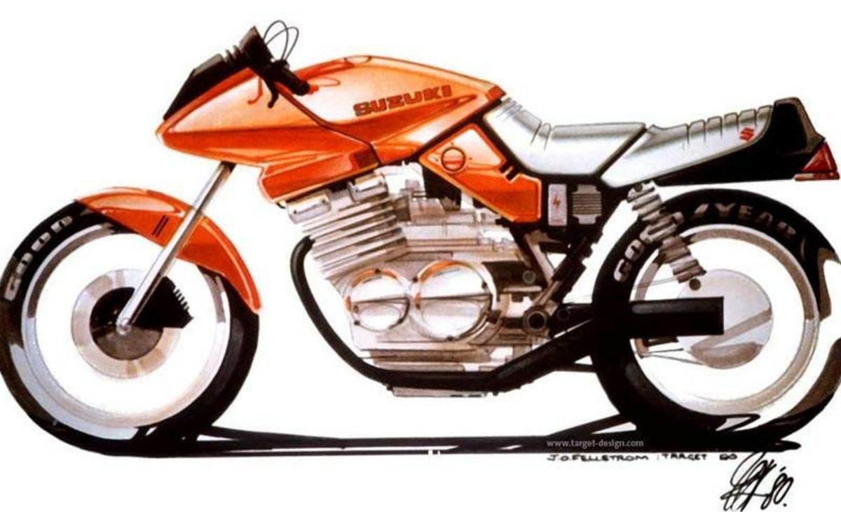 Suzuki Katana concept drawing