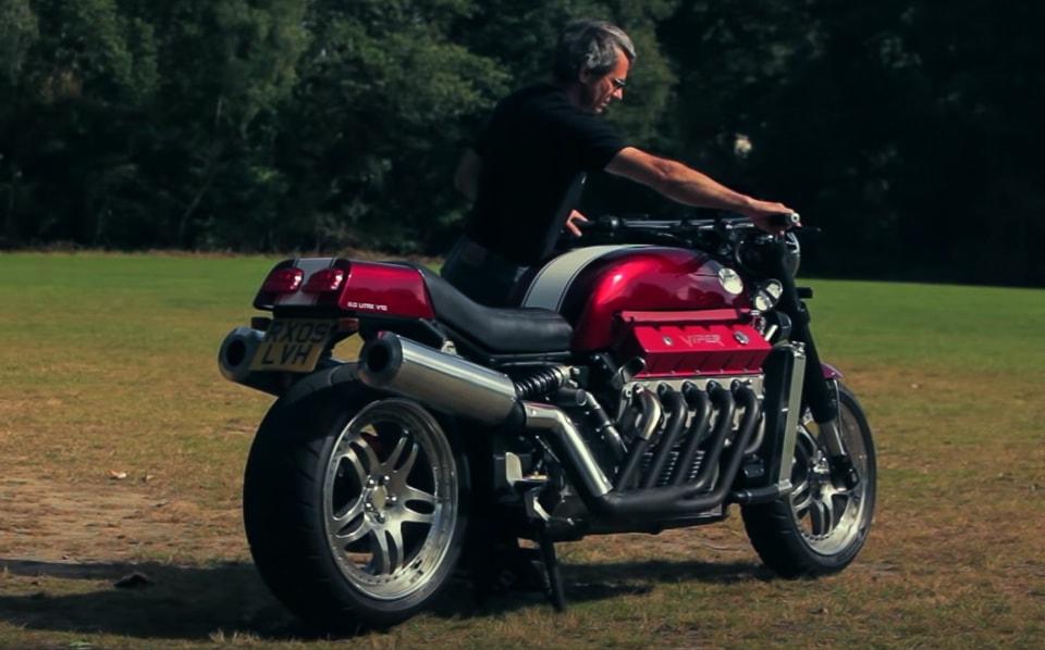 Allen Millyards Viper Motorcycle