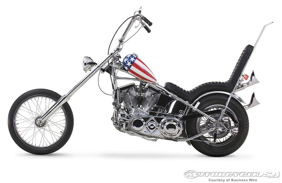 Harley-Davidson Easy Rider Captain America Chopper